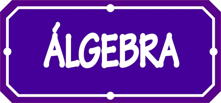 Álgebra - Materiales Educativos