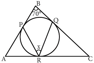 ejercicio de Propiedades de Angulos en la Circunferencia